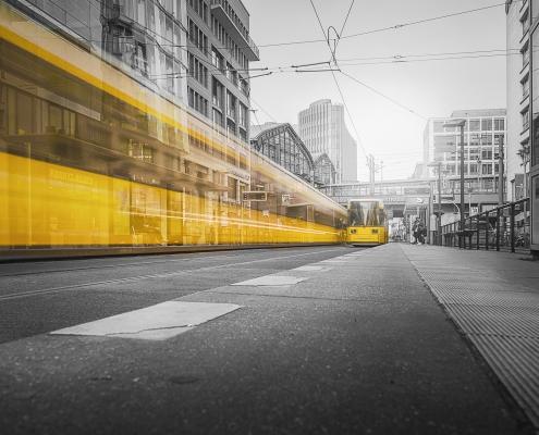 Bahn in Berlin