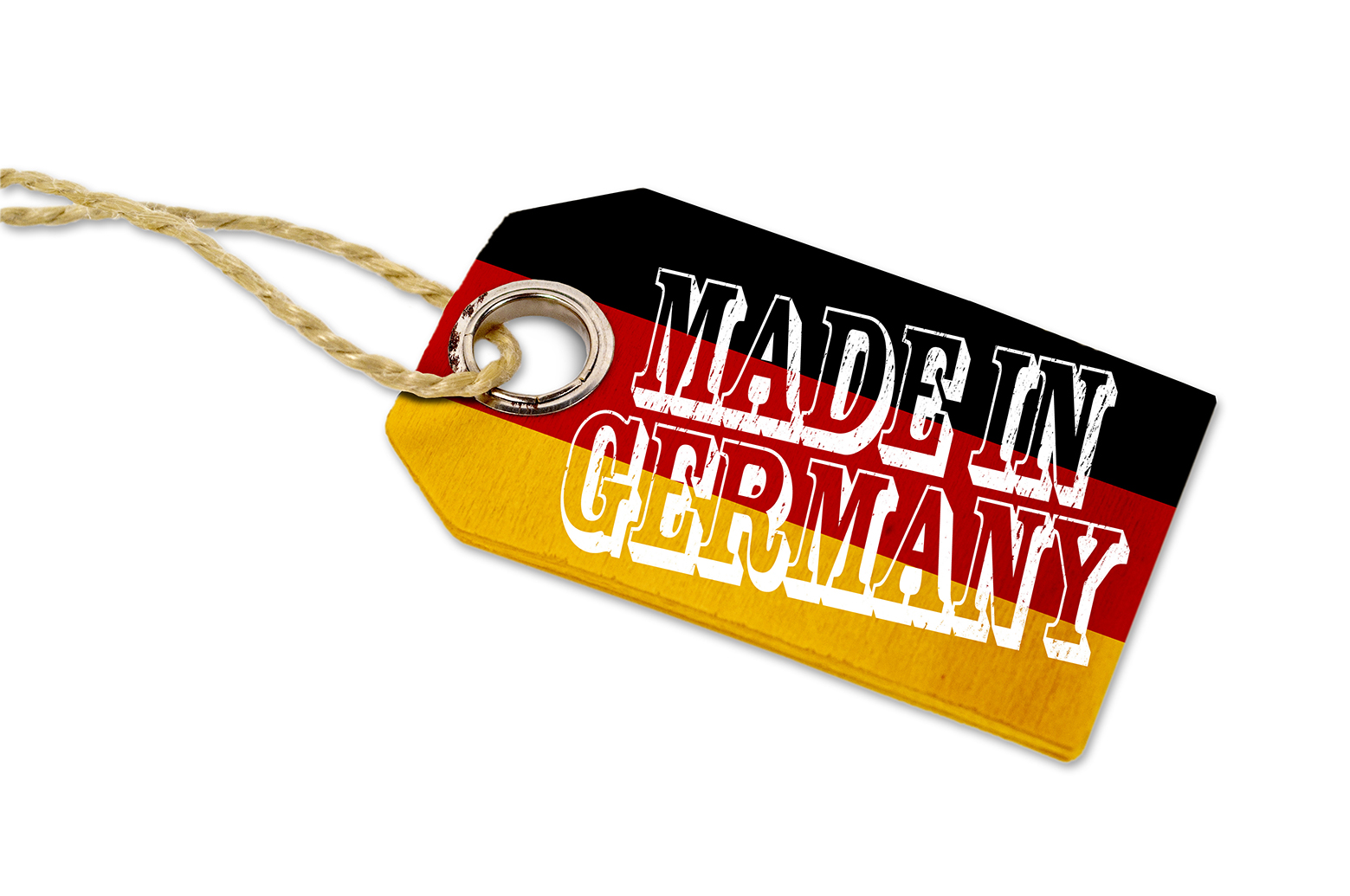Anhänger mit MADE IN GERMANY